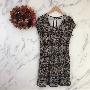 Lucky Brand Floral Casual Dress